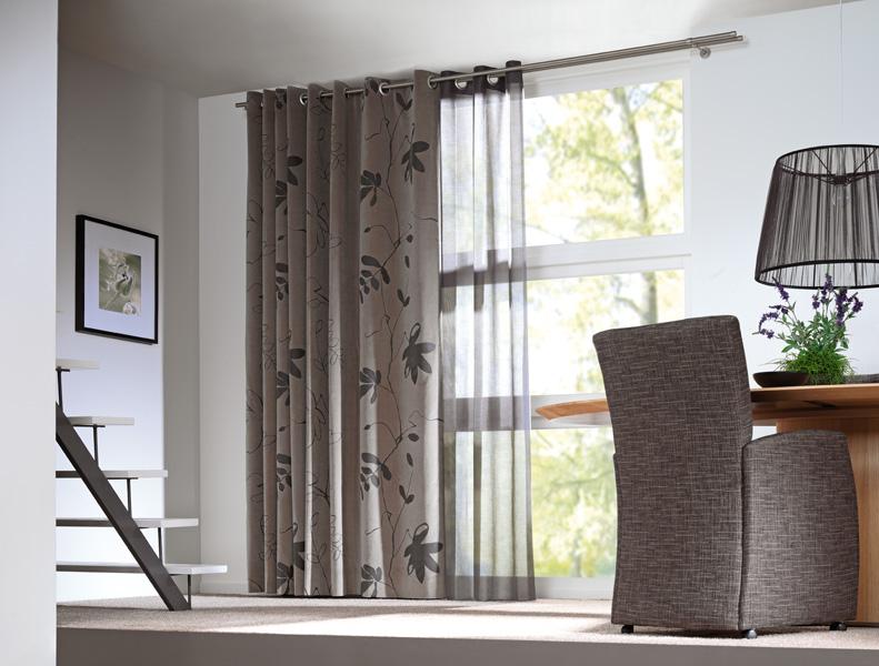 Raamdecoratie jorissen b v - Gordijnen voor moderne woonkamer ...